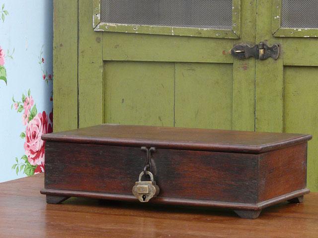 Small Wooden Box 2018 Sold Scaramanga