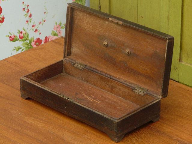 Small Wooden Box 2027 Sold Scaramanga