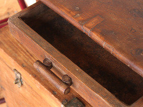 Old Wooden Desk 3661 Thumbnail