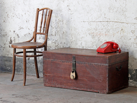 View our  Antique Camphorwood Chest from the  Old Wooden Chests, Trunks & Boxes collection