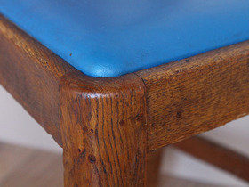 Antique Oak Library Chair  Thumbnail