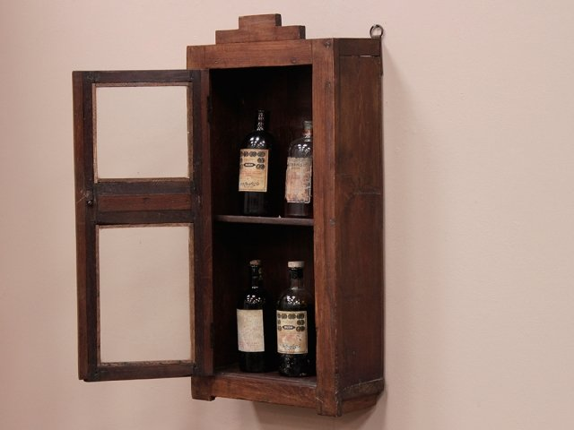 Bathroom wall cabinet vintage cabinets cupboards scaramanga - Antique bathroom wall cabinets ...