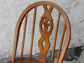 Vintage Ercol Dining Chairs Thumbnail