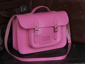 Girls School Satchel 15 Inch With Handle Thumbnail