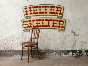 Helter Skelter Fairground Sign Thumbnail