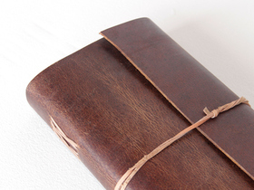 Large Leather Notebook Thumbnail
