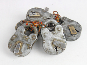 Large Old Iron Padlock Thumbnail
