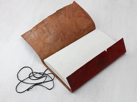 Large Vintage Leather Journal Thumbnail