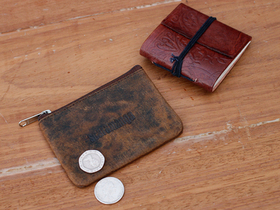 Leather Journal And Coin Pouch Set Thumbnail