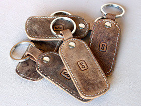 Leather Keyring Thumbnail