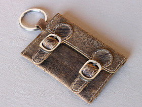 Leather Satchel Key Ring Thumbnail