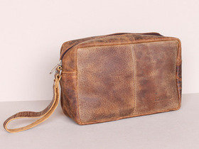 Leather Wash Bag Thumbnail