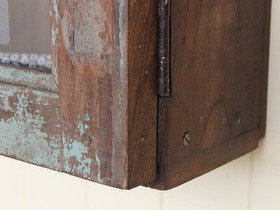 Old Distressed Blue Cabinet CABS30328 C Thumbnail