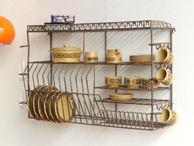 Old Metal Plate Rack OFRN70100 Thumbnail