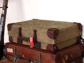 Old Military Suitcase TLNM45161 Thumbnail