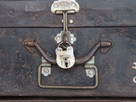 Old Military Trunk Thumbnail