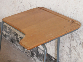 Old School Desk by James Bennet Thumbnail