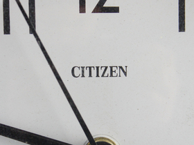 Old Ship's Clock By Citizen Thumbnail