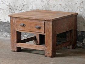 Old Teak Table Thumbnail