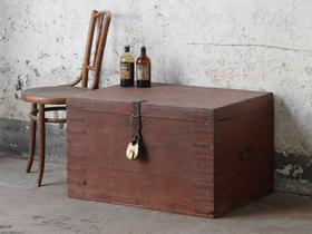 View our  Old Wooden Chest from the  Old Wooden Chests, Trunks & Boxes collection