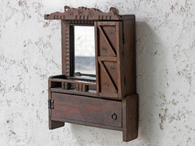 View our  Ornate Mirror Cabinet from the  For The Home collection