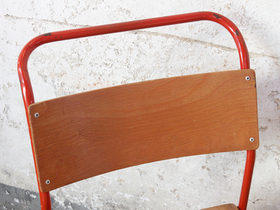 Red Stacking Chair by Remploy Thumbnail