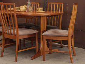 Retro Teak Dining Table by McIntosh Thumbnail