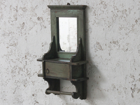 View our  Green Rustic Mirror from the  For The Home collection