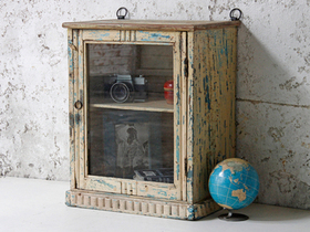 View our  Cream Shabby Chic Cabinet from the  For The Home collection
