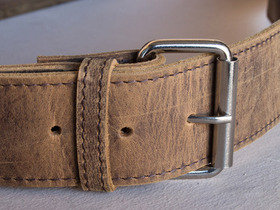 Small Leather Satchel 13 Inch Thumbnail