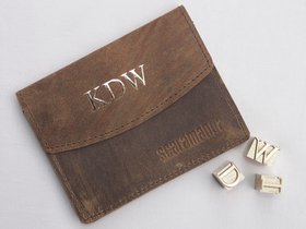 Small Leather Travel Wallet Thumbnail