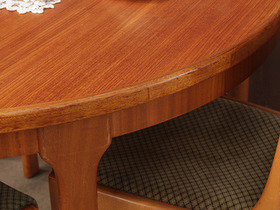 Retro Dining Table by McIntosh and 4 chairs TCBS40123 Thumbnail