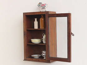 Teak Wall Cabinet CABS30386 Thumbnail