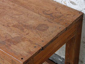 Tropical Hardwood Vintage Table Thumbnail