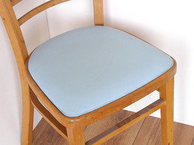 Vintage Blue Chairs (set of 4) Thumbnail