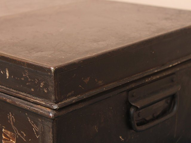 Vintage Metal Legal Deeds Chest Thumbnail