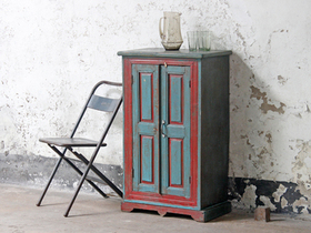 Vintage Painted Armoire  Thumbnail