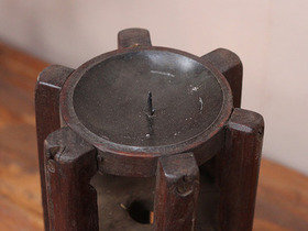Vintage Spindle Candle Holder Thumbnail