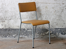 Vintage Stacking Chair By Remploy Thumbnail