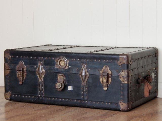 Vintage Steamer Trunk By Neverbreak Sold Scaramanga