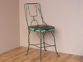 Vintage Twisted-Wire Ice Cream Chair TCBS40149 C Thumbnail