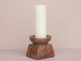 Wooden Candle Holder Thumbnail