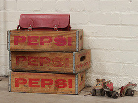 View our  Vintage Pepsi Crate from the  Old Wooden Chests, Trunks & Boxes collection