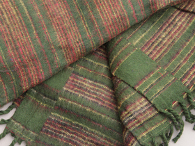 Woolly Blankets Green Thumbnail