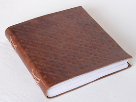 XXL Embossed Leather Journal Thumbnail