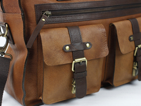 The Orient Leather Flight Bag Thumbnail