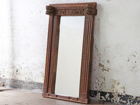 Antique Floor Mirror Thumbnail