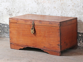 Antique Wooden Chest Thumbnail