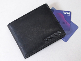 Black Leather Wallet Thumbnail