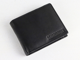 Black Trifold Leather Wallet Thumbnail